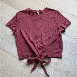 Lululemon Time to Restore short sleeve t shirt